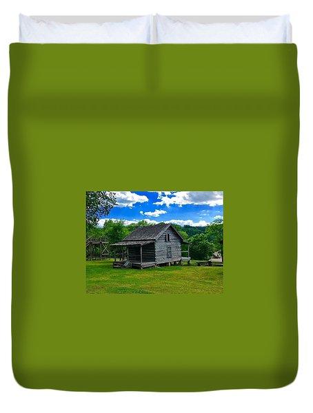 Arkansas Travels Duvet Cover