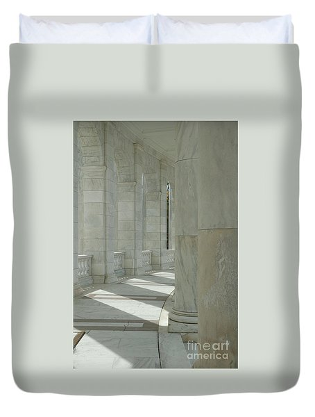 Arlington Memorial Amphitheater Hall Duvet Cover