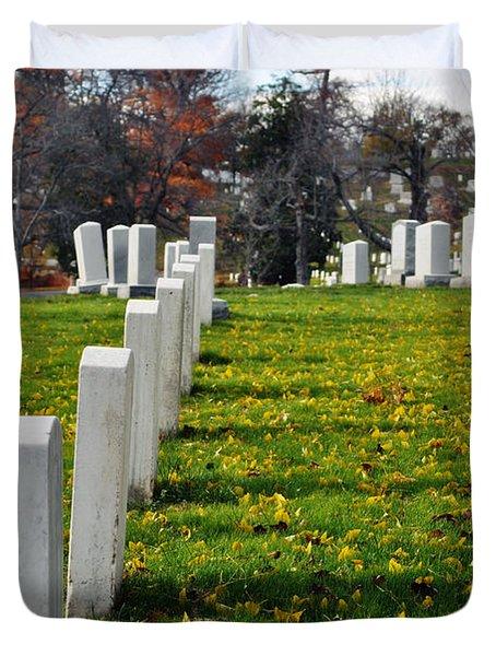 Arlington National Cemetery Hill Duvet Cover
