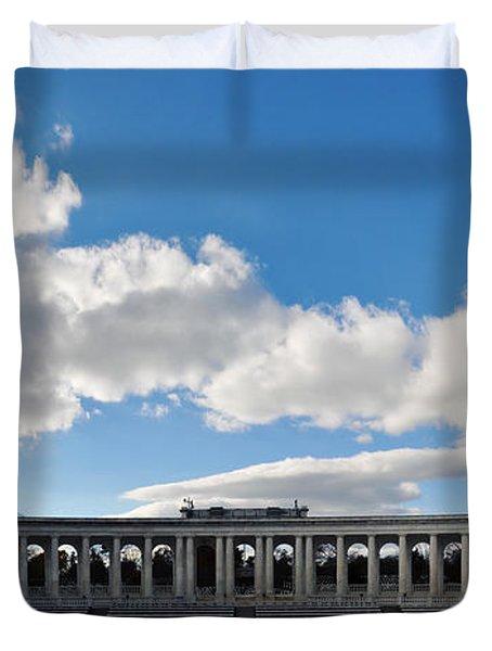 Arlington National Cemetery Memorial Amphitheater Panorama Duvet Cover