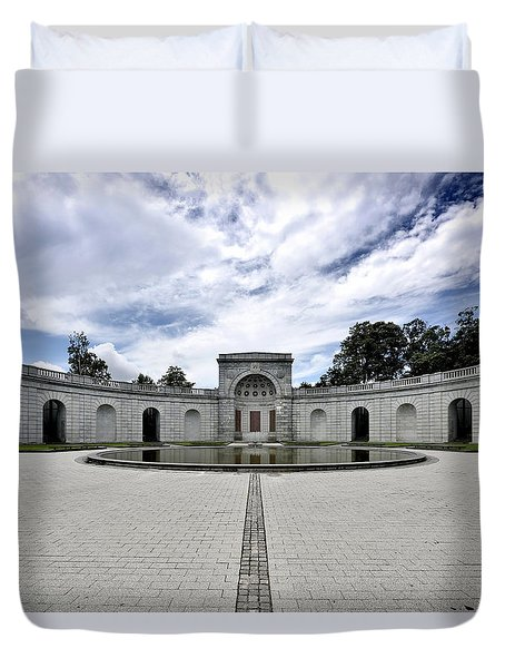 Arlington National Cemetery - Women In Military Service To America Memorial Duvet Cover