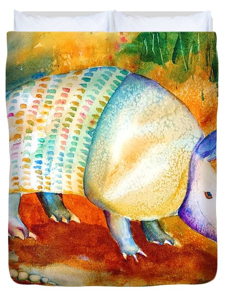 Armadillo Reflections Duvet Cover