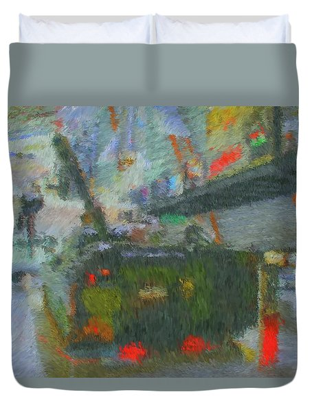 Armored Personnel Carrier Duvet Cover