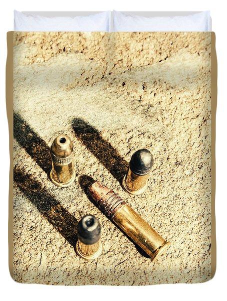 Arms Of Ammunition Duvet Cover