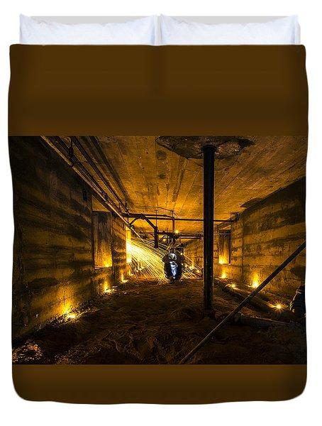 Army Bunker Duvet Cover