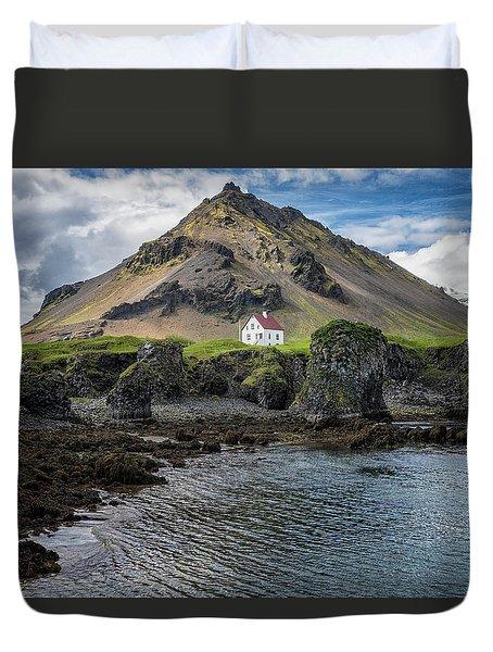 Arnarstapi House Duvet Cover