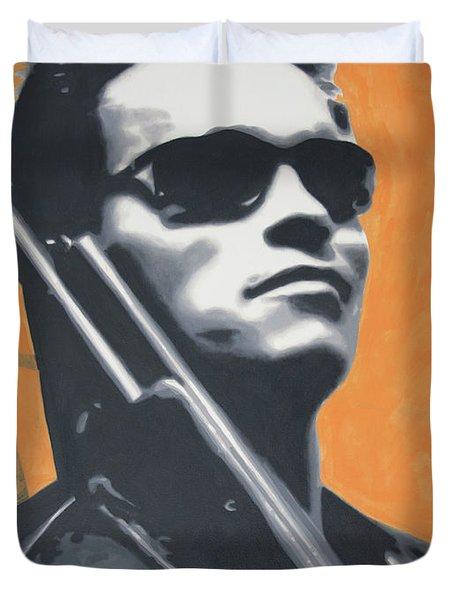 Arnold Schwarzenegger 2013 Duvet Cover