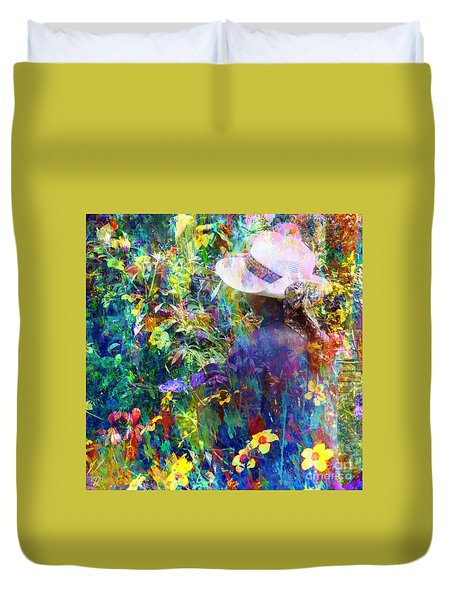 Aromatherapy Duvet Cover