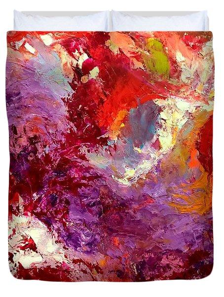 Aromatic Mixtures Duvet Cover