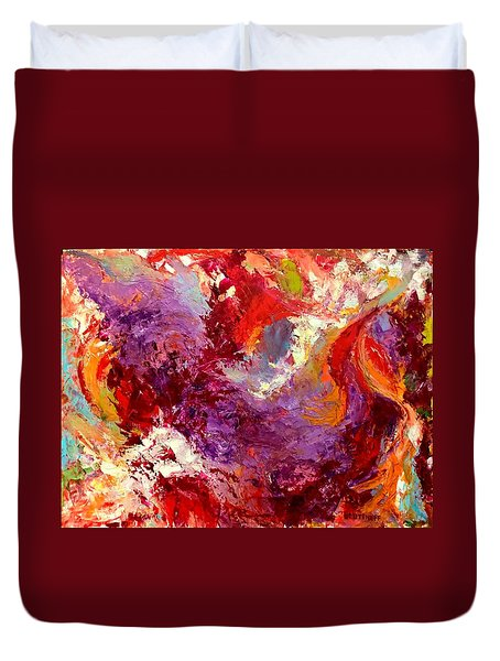 Aromatic Mixtures Duvet Cover