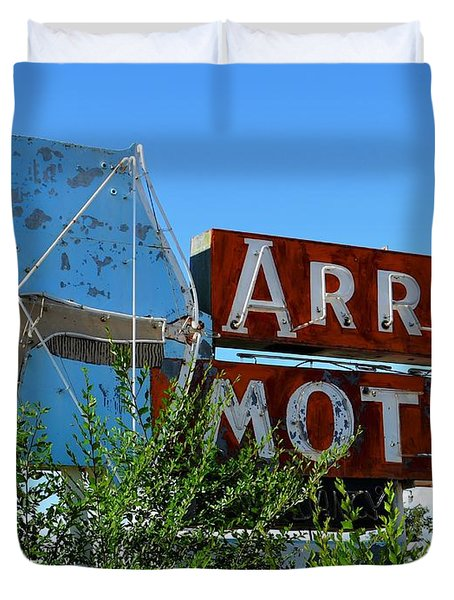 Arrow Motel Duvet Cover