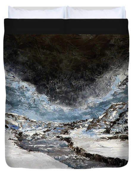 Arroyo Pass Duvet Cover