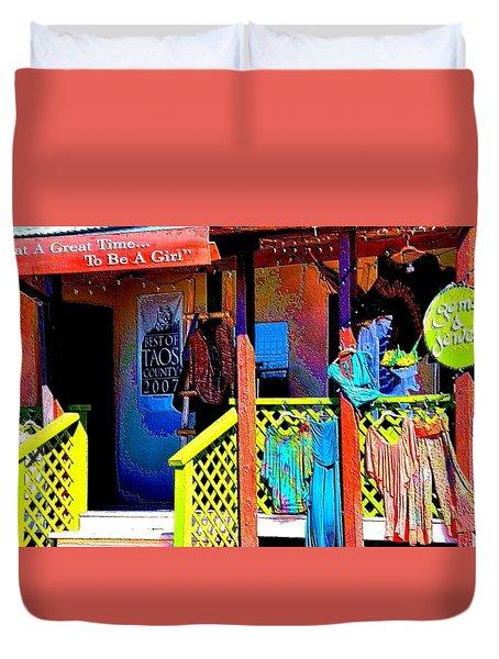 Arroyo Seco Store Duvet Cover