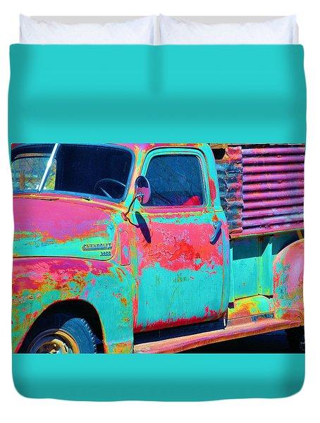 Arroyo Seco Truck 1 Duvet Cover