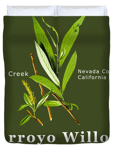 Arroyo Willow - Color Duvet Cover