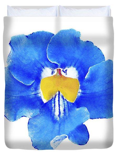 Art Blue Beauty Duvet Cover