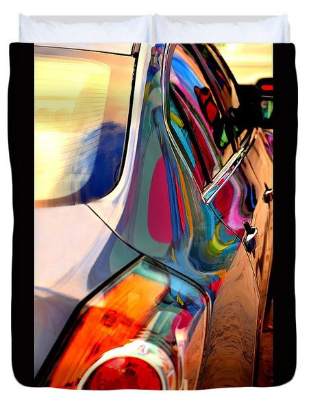 Art Car Duvet Cover
