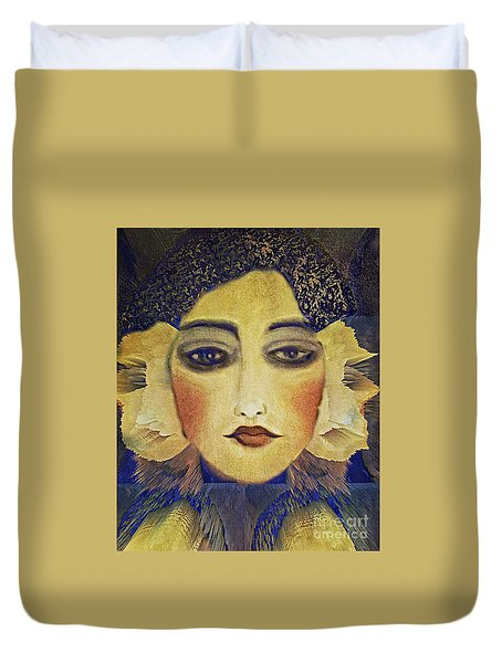 Art Deco  Beauty Duvet Cover