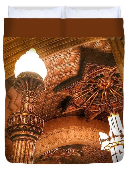 Art Deco Ceiling Duvet Cover