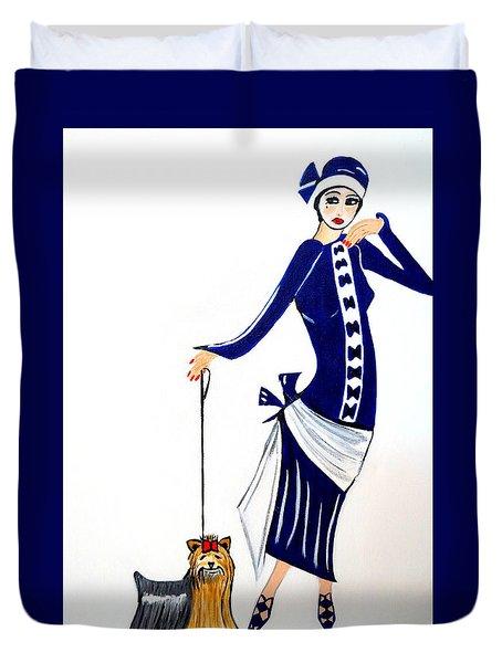 Art Deco  Diane 1920's Duvet Cover