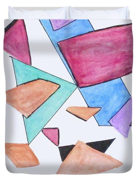 Art Doodle No. 1 Duvet Cover