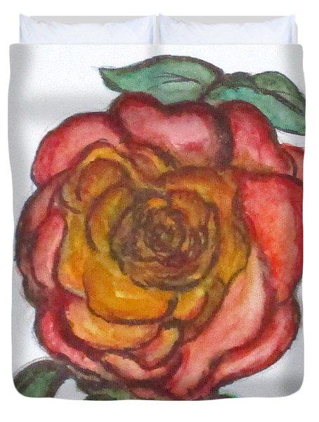 Art Doodle No. 30 Duvet Cover