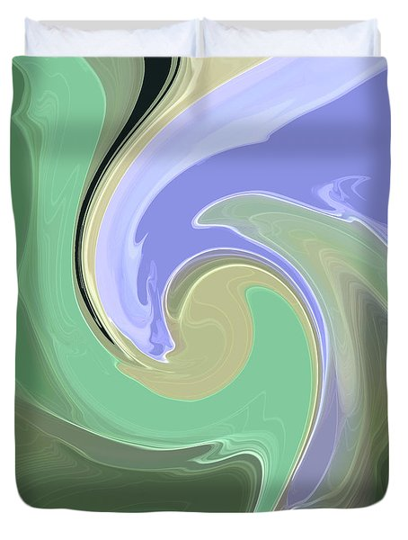 Art Glass Duvet Cover