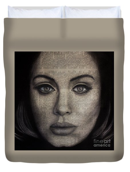Art In The News 72-adele 25 Duvet Cover