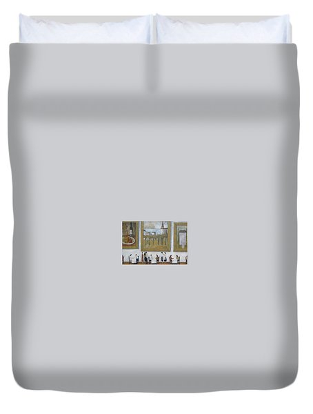 Art Is Long, Life Is Short Duvet Cover by Glenn Quist