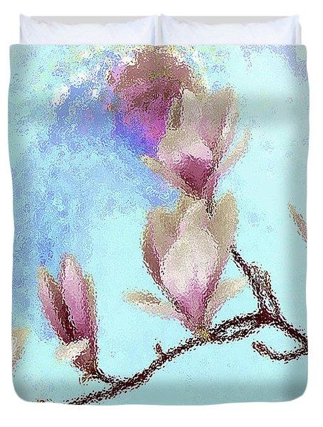 Art Magnolia Duvet Cover