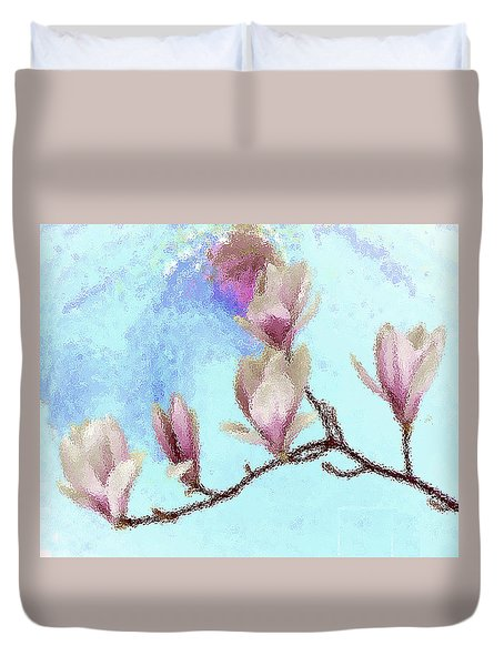 Art Magnolia Duvet Cover