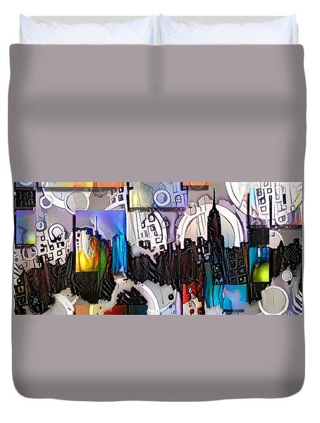 Art Manhattan Duvet Cover