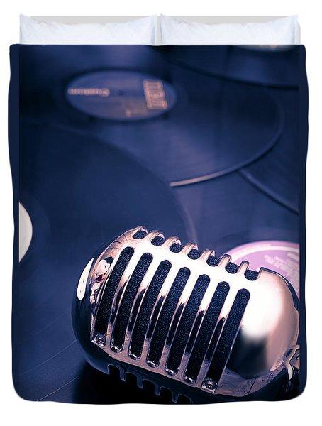 Art Of Classic Communication Duvet Cover