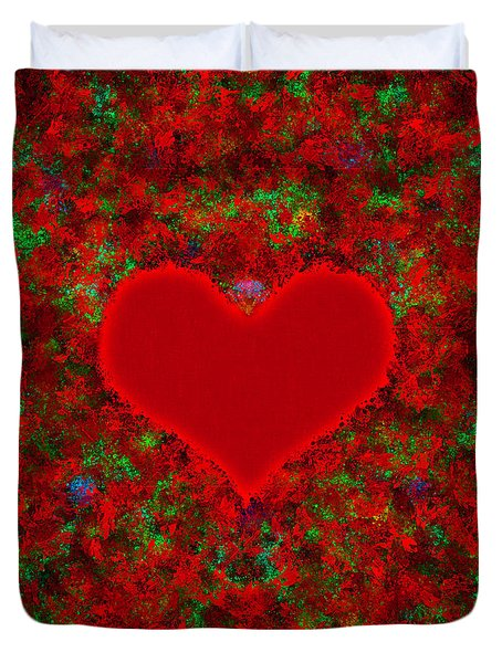 Art Of The Heart 2 Duvet Cover by Anton Kalinichev