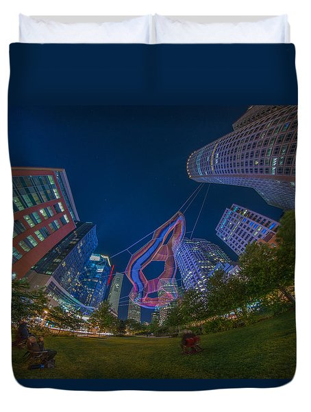 Art On The Greenway 2 Duvet Cover