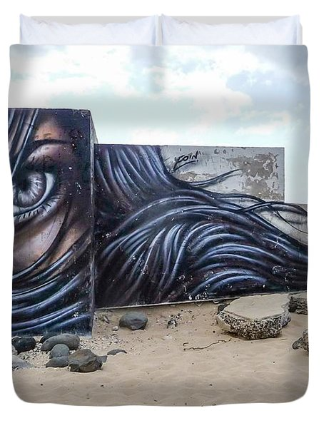 Art Or Graffiti Duvet Cover