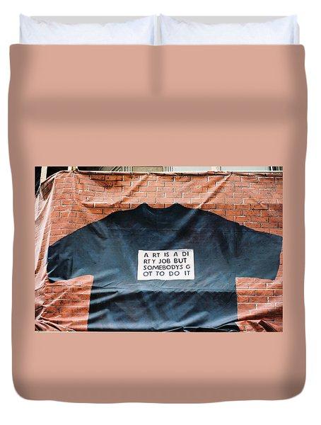 Art Shirt Duvet Cover
