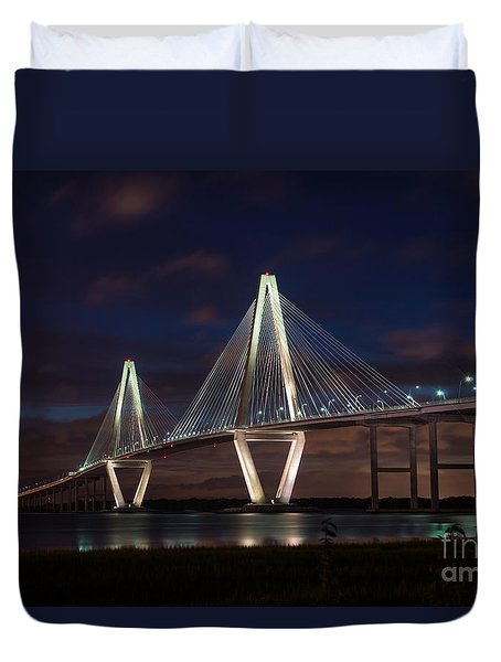 Arthur Ravenel At Night Duvet Cover