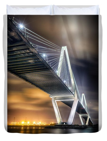 Arthur Ravenel Jr. Bridge Duvet Cover