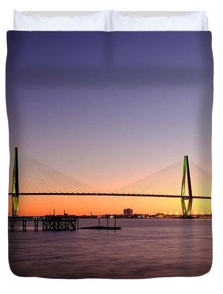 Arthur Ravenel Jr. Bridge Duvet Cover