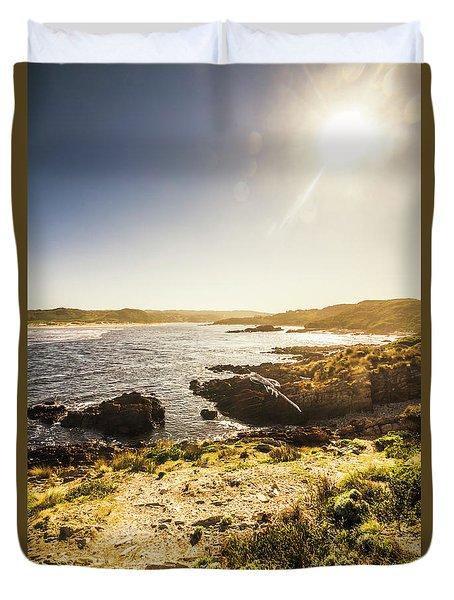 Arthur River Tasmania Duvet Cover