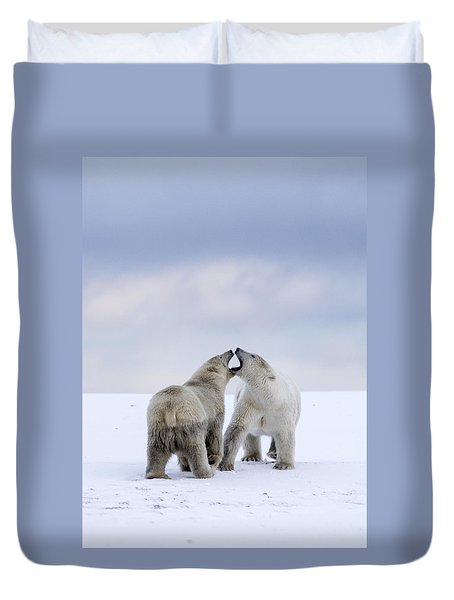 Artic Antics Duvet Cover