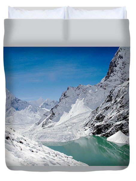 Artic Landscape Duvet Cover