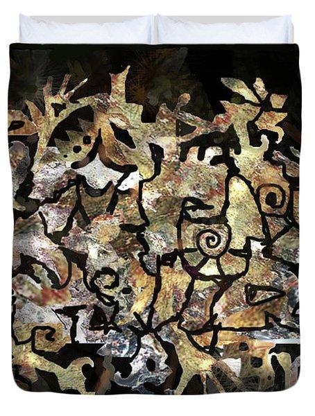 Artifacts Duvet Cover