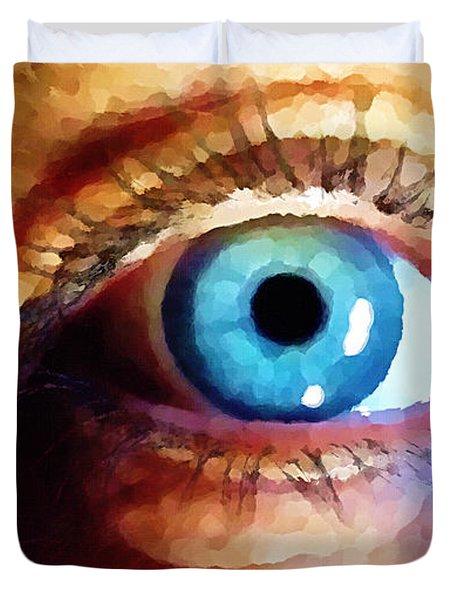 Artist Eye View Duvet Cover