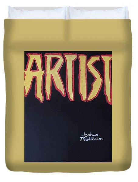Artist 2009 Movie Duvet Cover by Joshua Maddison