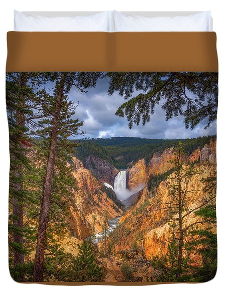 Artist Point Afternoon Duvet Cover