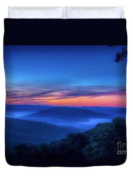 Artist Point Sunrise Duvet Cover