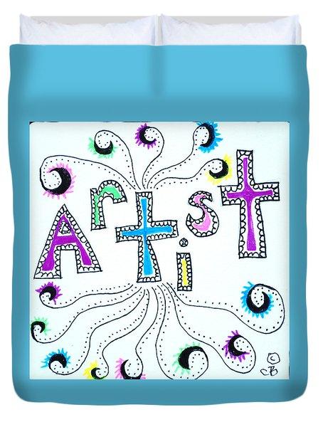 Artist Duvet Cover