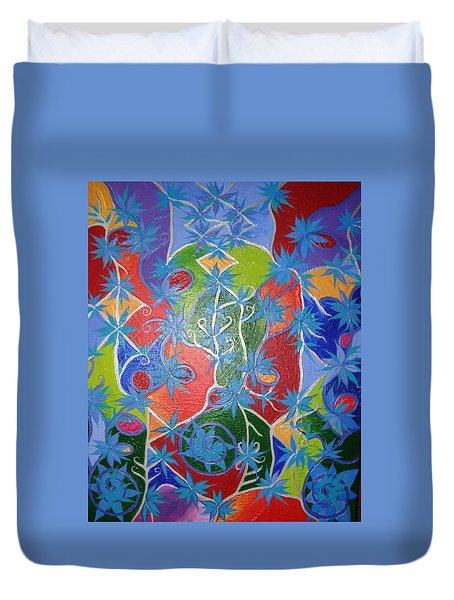 Artistic Acomplishments Duvet Cover by Joanna Pilatowicz